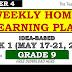 WEEK 1 GRADE 9 Weekly Home Learning Plan Q4