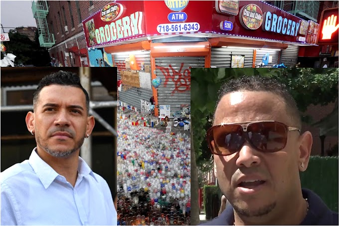 Padre de Junior convoca protesta contra reapertura de bodega donde asesinaron su hijo