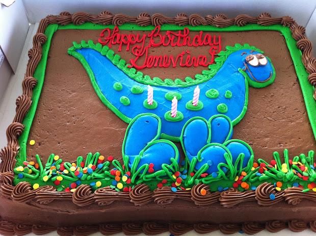 Dinosaur Birthday Cake Costco