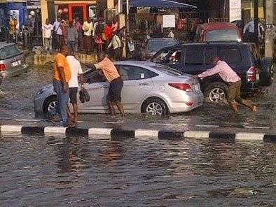 flooding awolowo road ikeja