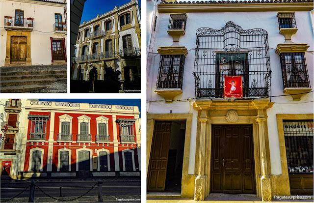 Fachadas históricas de Ronda, Andaluzia