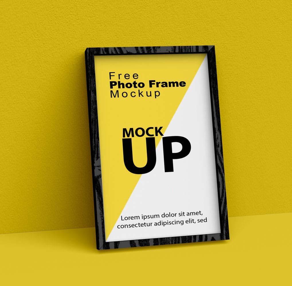 Photoshop Wooden Frame MockUp