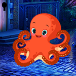 Games4King - G4K Innocent Octopus Escape Game