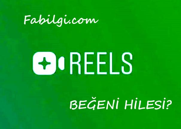 Instagram Reels Beğeni Hilesi Sitesi 100 Kredili Ekim 2020