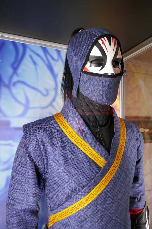 Shang-Chi Legend Ten Rings Death Dealer costume detail