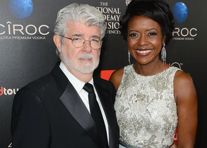 Chatter Busy: George Lucas And Mellody Hobson Welcome Baby ...