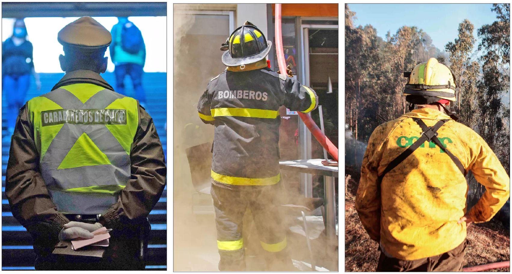 Joven se hacía pasar por carabinero, bombero y brigadista de Conaf