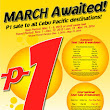 Piso Fare 2013 and 2014 - Cebu Pacific