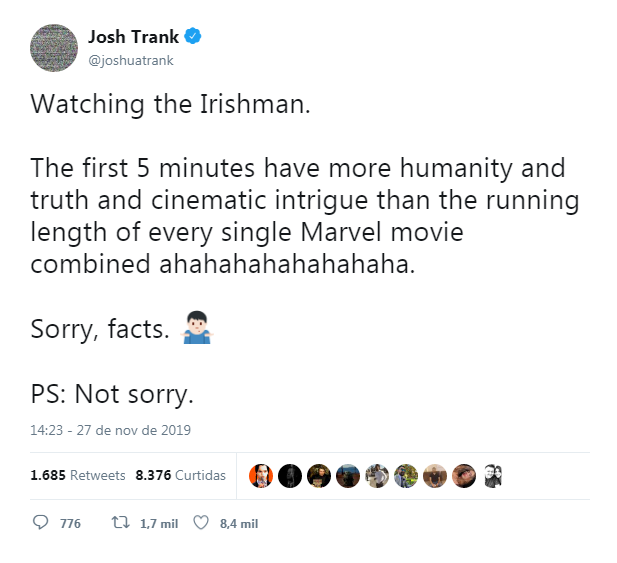 Josh Trank/Twitter/Reprodução