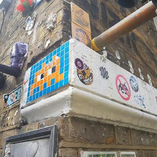 Invader LDN_24 on Brick Lane in London
