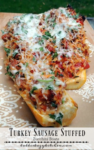 A delicious alternative to stuffed peppers, and a terrific way to enjoy those summer zucchini. From www.bobbiskozykitchen.com