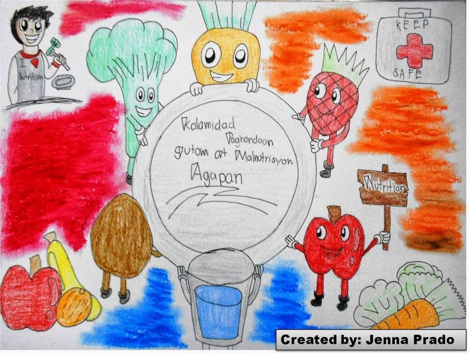 echoes beyond my soul nutrition month poster making contest
