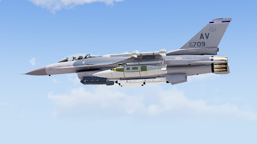 Arma3用ミサイルとポッドMODでHUDの色調節