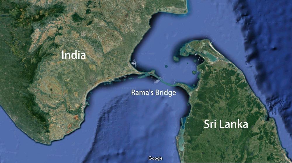 Adam's Bridge, Rama's Bridge, Rama Setu