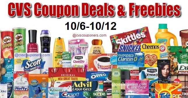 CVS Coupon Deals 10 6 10 12