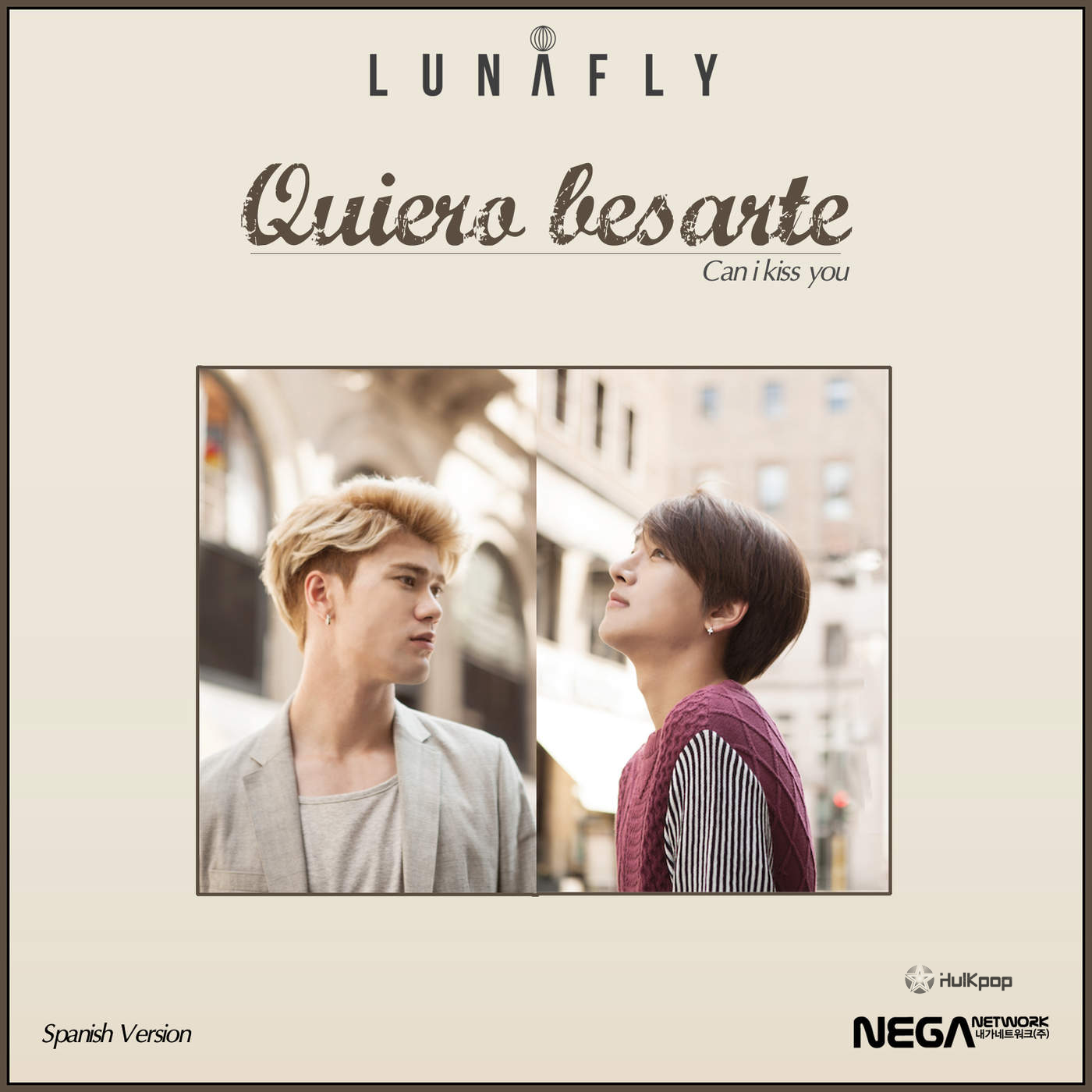 [Single] LUNAFLY – Quiero Besarte (Spanish)