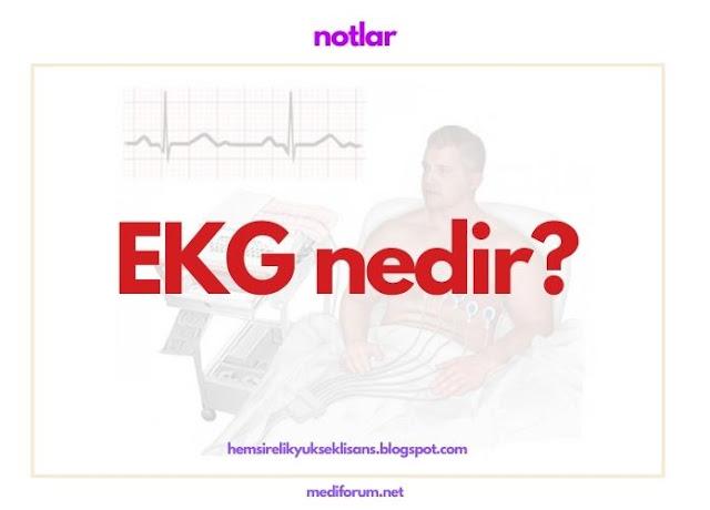 elektrokardiyogram nedir