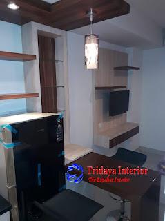 Interior-studio-apartemen-Kamala-lagoon-bekasi