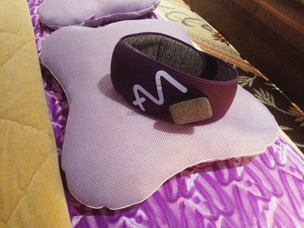 Ampower Platinum Beautify Pillow and Ampower Platinum Heat Sleep Mask