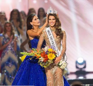 Iris Mittenaere Pemenang Miss Universe 2017