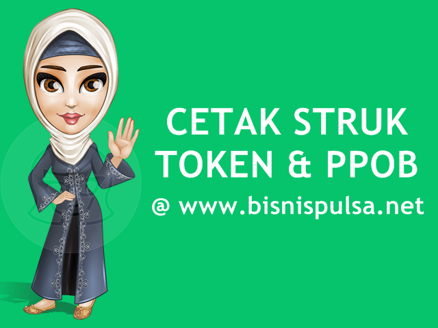 Fasilitas Cetak Struk Token PLN & PPOB BisnisPulsa.net