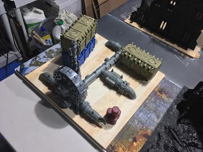 Warhammer 40K Terrain WIP