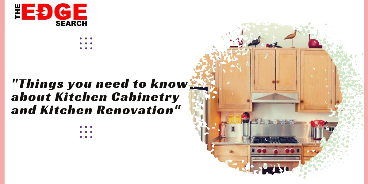 cabinetry and Kitchen Renovation