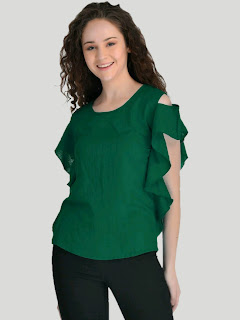 Women's Stunning Rayon Solid Top