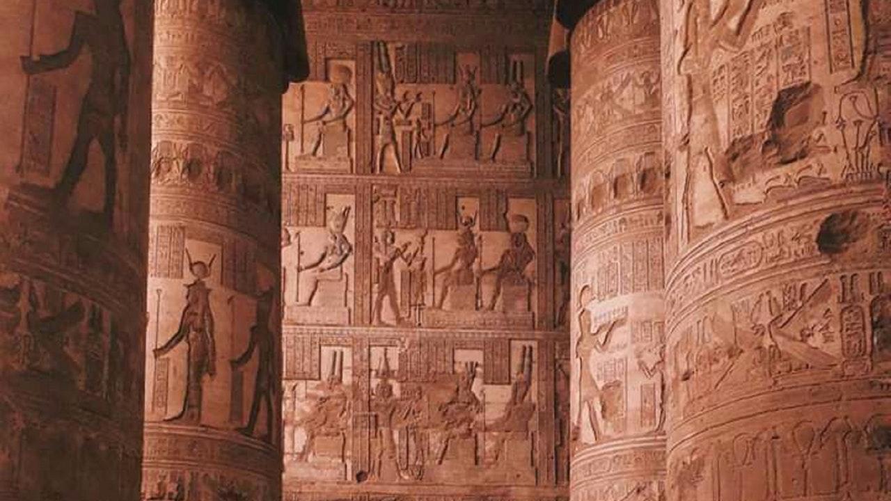 arquitectura egipcia hipogeos