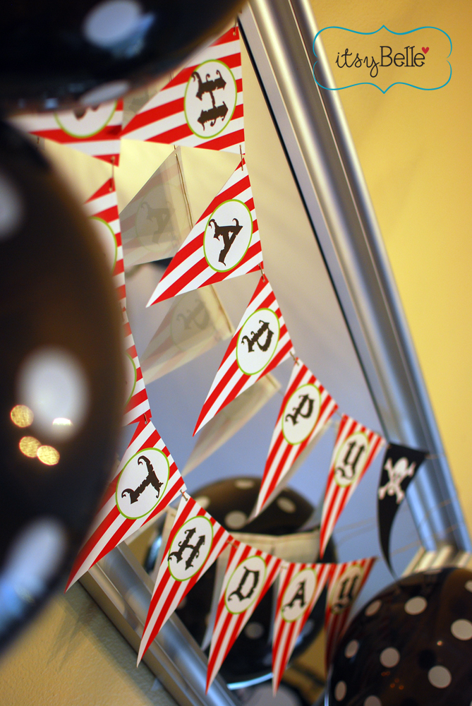 {REAL PARTIES} Captain Jackson's Pirate Party - Itsy ...