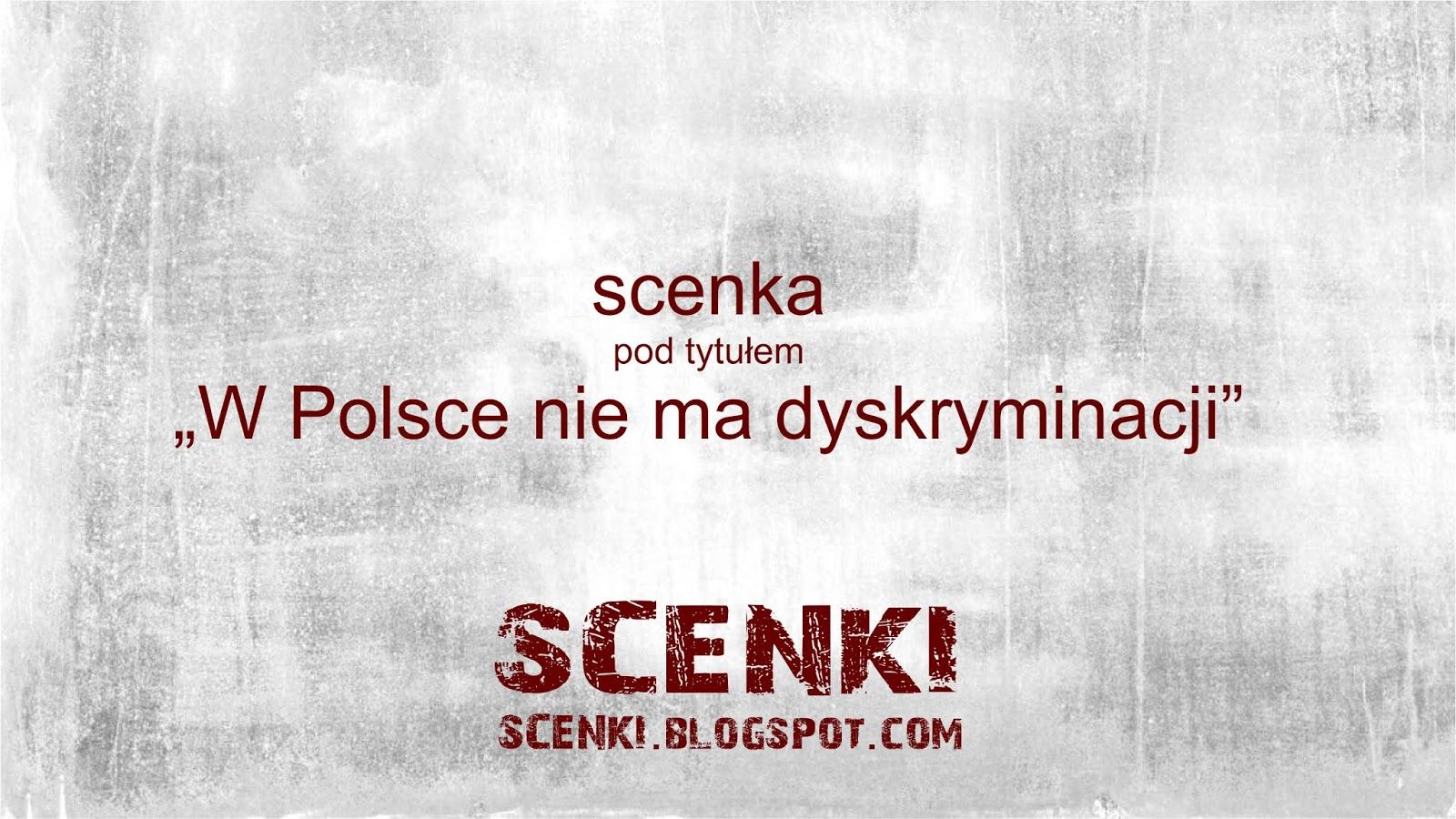 W Polsce nie ma dyskryminacji