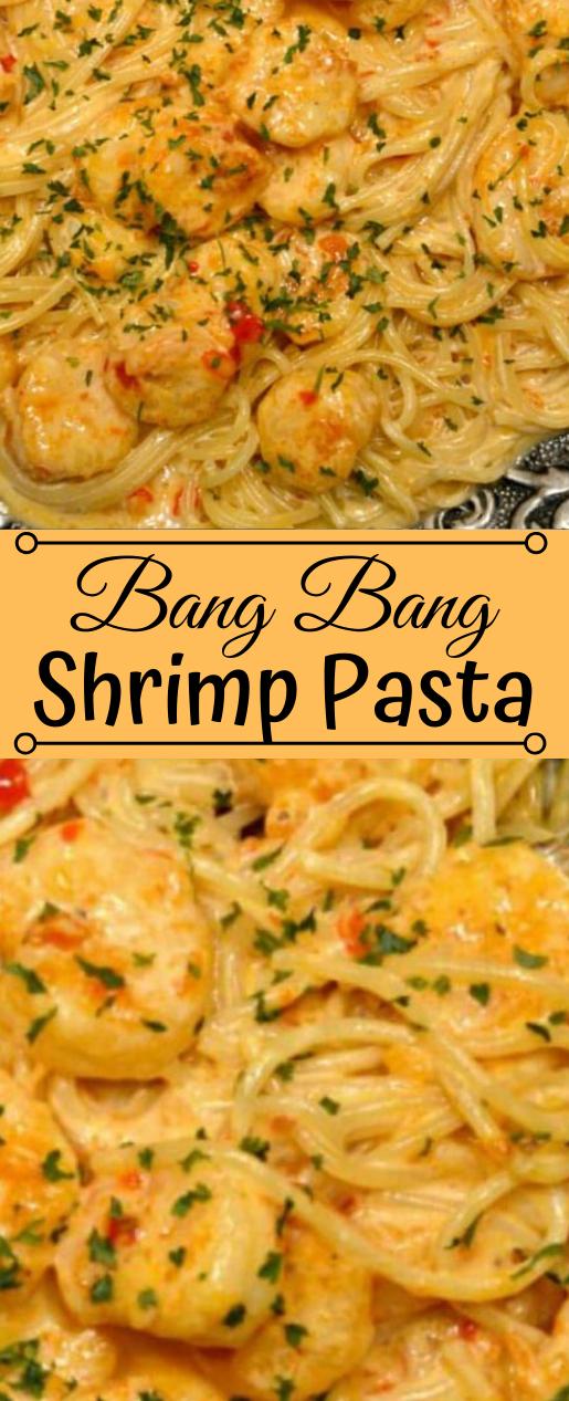 BANG BANG SHRIMP PASTA #pasta #shrimp #easy #dinner #lunch