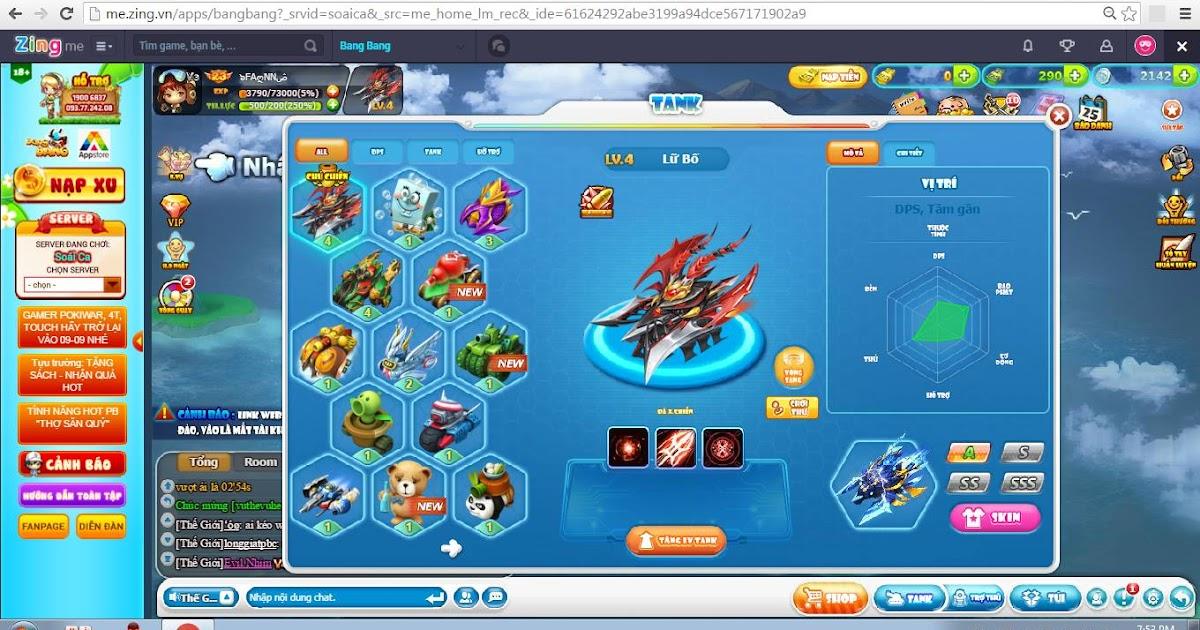 - LỮ BỐ SV SOÁI CA | Shop bán acc game online
