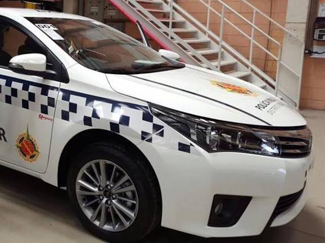 Toyota Corolla da Polícia Militar do DF