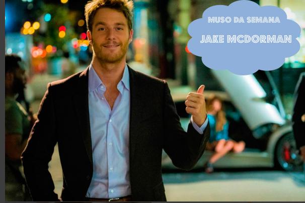 Jake McDorman, o Brian Finch de Limitless é o muso da semana (foto: divulgaçã