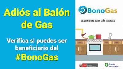#BonoGas Verifica si puedes ser beneficiario del Gas Natural para tu casa
