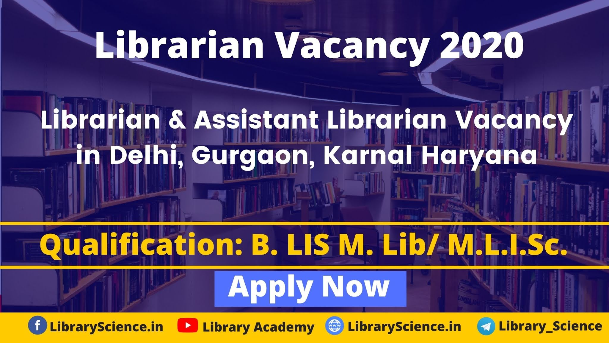 Librarian Vacancy