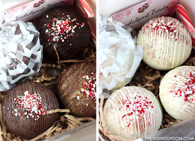 Hot Chocolate Bombs For a Hot Cocoa Gift Basket