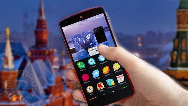 Rússia desenvolve novo sistema operacional para smartphones