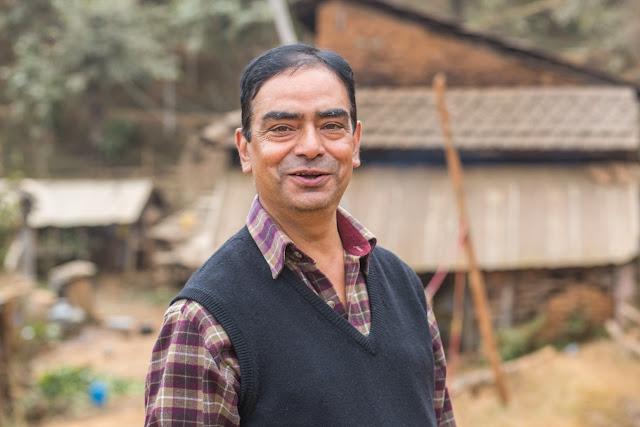 shekhar sharma, national trachoma program, nepal netra jyoti sangh, trachoma elimination in nepal