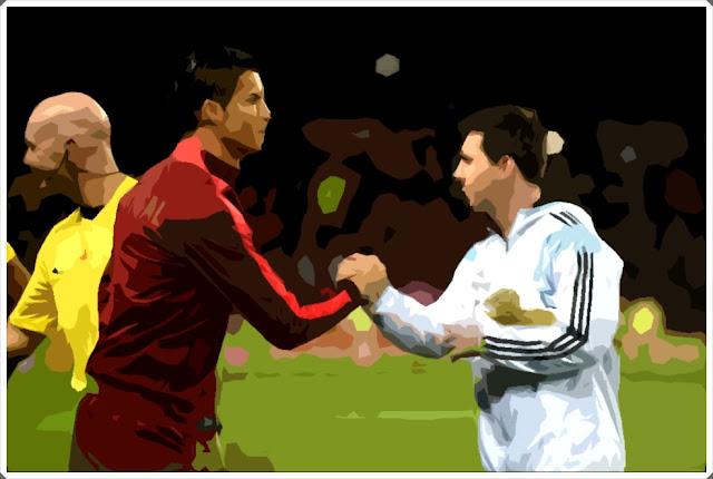 Cristiano Ronaldo Messi Lionel