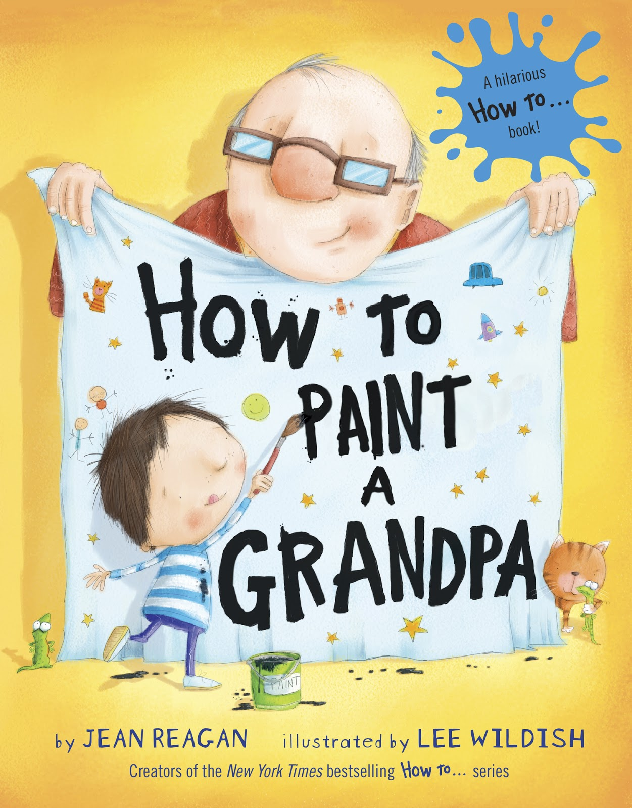 literary hoots fool s library display 11 funny book covers how to paint a grandpa pdf based on this book