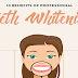 10 Benefits of Professional Teeth Whitening #infographic