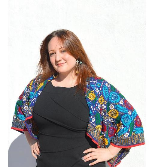Kimono Crop Jacket