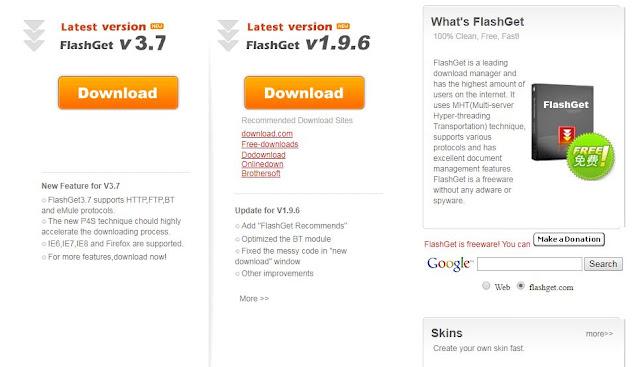 Download Software FlashGet dengan fitur terbaru