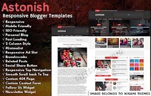 Astonish Pro Blogger Template  - Responsive Blogger Template
