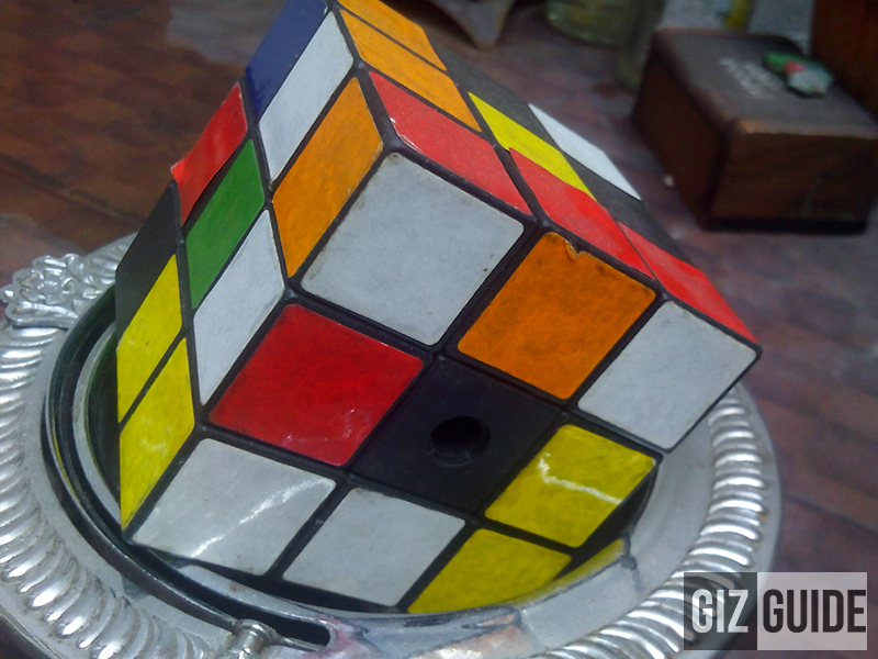 Kata T4 sample rubix cube photo