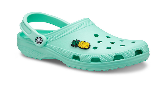 Which part of a Croc shoe is adjustable?