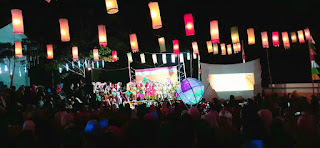 kegiatan karnaval desa kalitapen