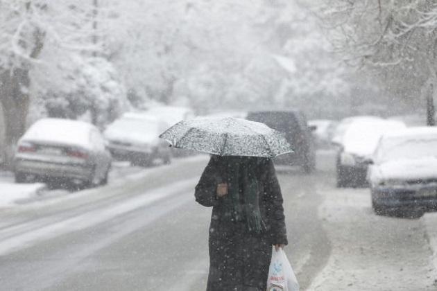 Επελαύνει ο «Λέανδρος» - Πολικό ψύχος και χιόνια ακόμη και στην Αττική